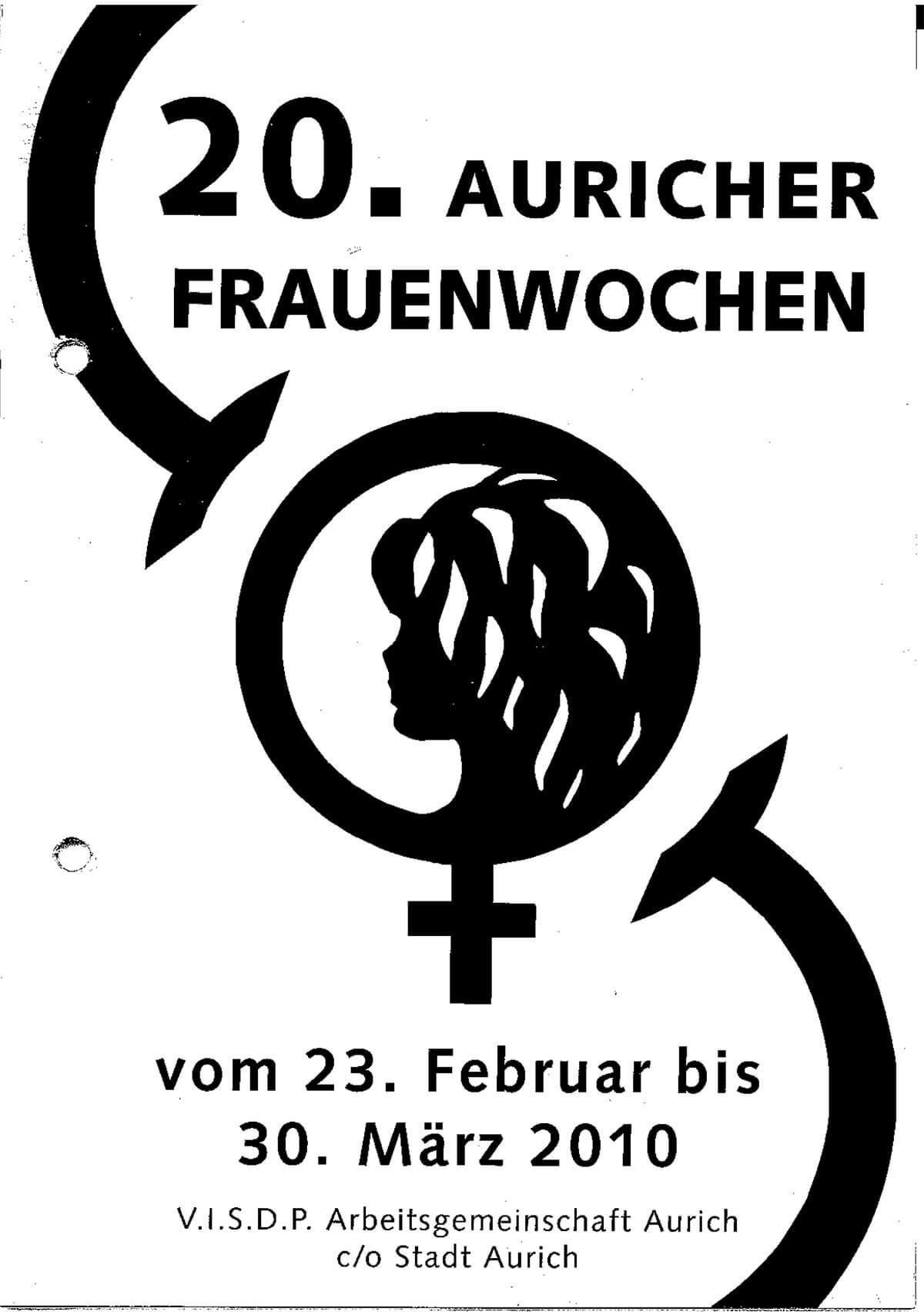 Programmheft 2010 anschauen – Auricher Frauenwochen
