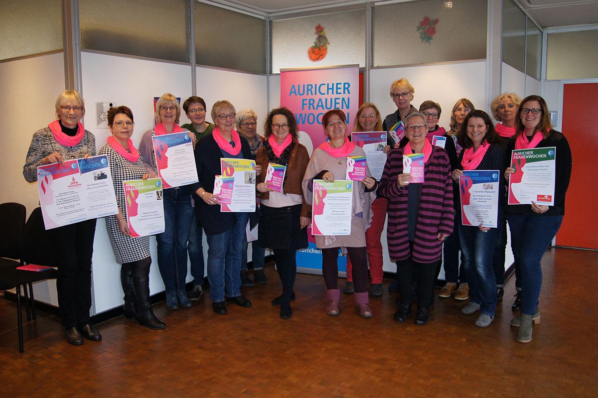 Auricher Frauenwochen 2020 - Eröffnung im Rathaus